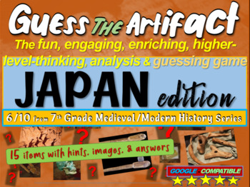 "Japan ""Guess the artifact"" game: engaging PPT with picture"