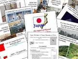 Japan: Impact of Physical Geography on Culture PowerPoint