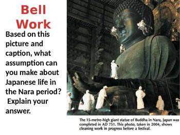 Japan Nara Period Lesson