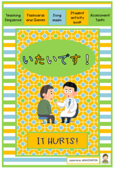 Japanese: IT HURTS ~ a complete teaching and learning kit.