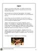 Around the World: Japan Reading Passages: 3-4 grade
