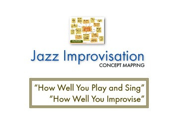 Jazz Improvisation (Concept Mapping): How Well You Improvi