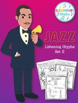 Jazz Listening Glyphs Set II