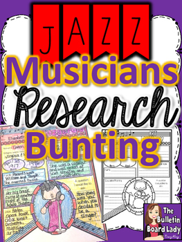 Jazz Musicians Research Bunting
