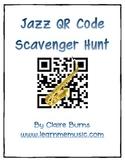 Jazz QR Code iPad Scavenger Hunt