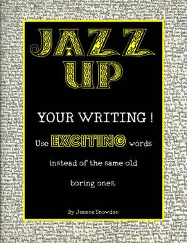 Jazz Up Your Writing