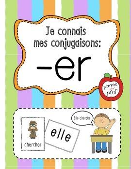 Je connais mes conjugaisons - terminaisons 'er' (French Ve