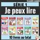 Je peux lire -   20 LIVRETS -  French Emergent Reader Mini