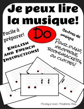 Je peux lire la musique! (I can read music!)
