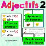 Je travaille mon vocabulaire: Les adjectifs 2 {French Adje