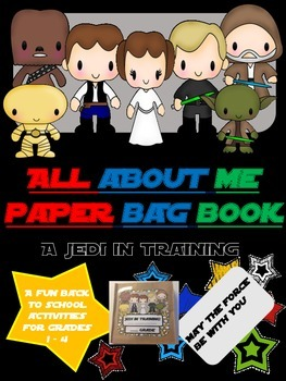 Jedi in Training! Back to school all about me {{paper lunc