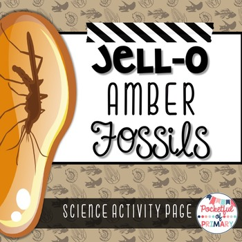 Jell-O Amber Fossils