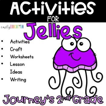 Jellies Life of a Jellyfish Supplement Activities Journeys