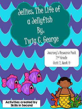 Jellies: The life of a Jellyfish Literacy Centers