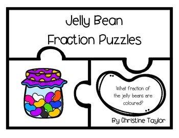 Jelly Bean Fraction Puzzles