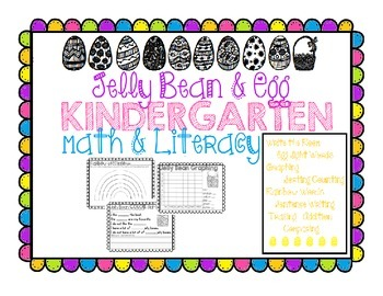 Jelly Bean and Eggs Math and Literacy Kindergarten