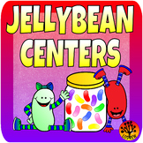 Jellybean Jelly Bean Centers Spring Activities Literacy Ma