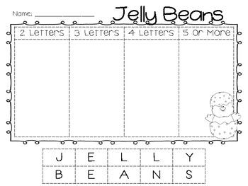 Jellybean Making Words {Freebie!}