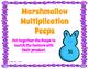 Jellybean & Marshmallow Peep Math Games: Multiplication, 3