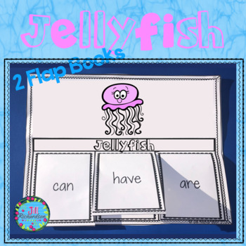 Jellyfish Foldable Activities and Fast Facts!