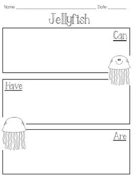Jellyfish Craftivity