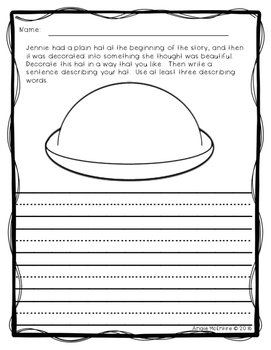 Jennie's Hat: Free Extension Activities