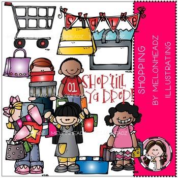 Melonheadz: Shopping clip art