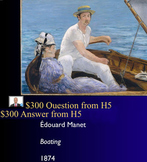 Jeopardy Game Art of Impressionism ~ Impressionists ~ Art History