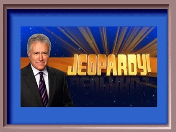Jeopardy Game for Equations & Inequalities (6th Grade Comm