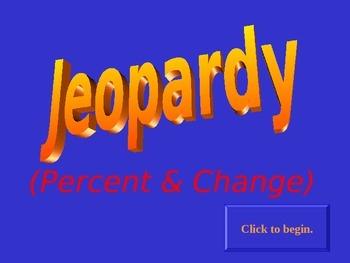 Jeopardy Percent & Change