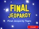 Jeopardy PowerPoint Template - Plays Just Like Jeopardy