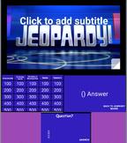 Jeopardy Template (Google Slides)