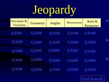 Jeopardy for Benchmark C