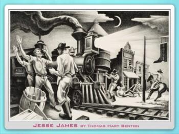 Jesse James ~ Outlaw ~ Quantrill Raider ~ Missouri ~ Folk