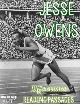 Jesse Owens Differentiated Reading Passages