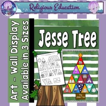 Jesse Tree Wall Art ~ 3 sizes!
