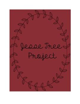 Jesse Tree Christmas Ornament Project