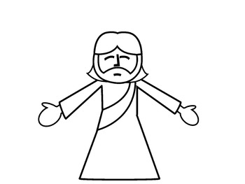 Jesus FREEBIE Clip Art by Mb STEAD