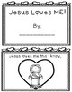 Jesus Loves Me Valentine's Book FREEBIE