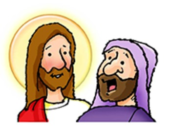 Jesus talks to the rich man