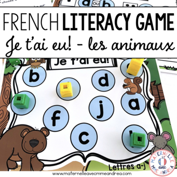 Jeu Je t'ai eu! Les animaux de la forêt (FRENCH Forest-the