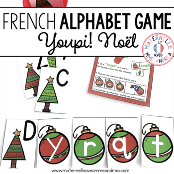 Jeu Youpi! C'est Noël - FRENCH Christmas themed game/liter