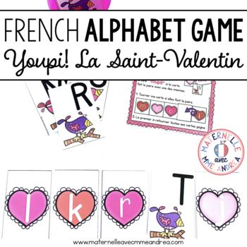 Jeu Youpi! La Saint-Valentin - FRENCH Valentine's Day them
