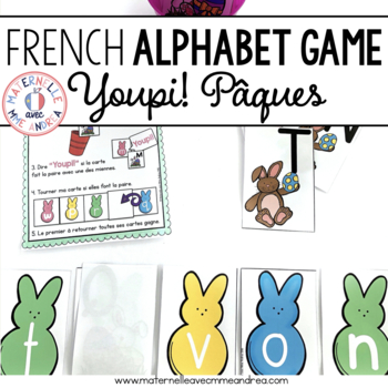 Jeu Youpi! Pâques - FRENCH Easter themed game/centre