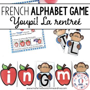 Jeu Youpi! - FRENCH game/literacy centre
