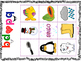 "Jeu de bingo b d et p q   - French Bingo Game for ""p-d-p-q"""