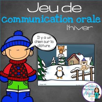 Jeu de communication orale: L'hiver - Oral Communication G