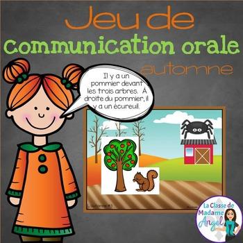Jeu de communication orale: l'automne - Oral Communication
