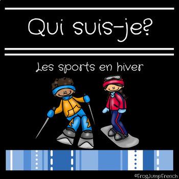 Jeu de comprehension de lecture sports en hiver// French r