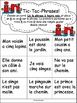 "Jeux de Mots (Le son ""in"") Ateliers, No Prep, French Phoni"